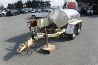 Used 1985 ROADRUNNER Tank 400 Tandem Axle Trailer for sale in Burnaby, BC