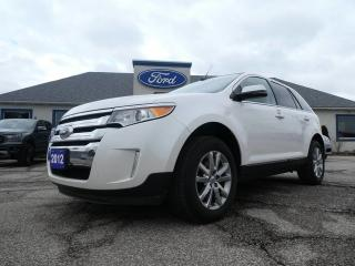 Used 2012 Ford Edge Limited- AWD- LOADED- LEATHER- NAVIGATION for sale in Essex, ON