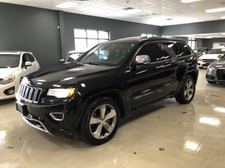 Used 2014 Jeep Grand Cherokee OVERLAND*DIESEL*NAVIGATION*BACK-UP CAMERA*NO ACCID for sale in North York, ON