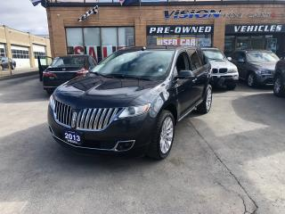 Used 2013 Lincoln MKX NAVIGATION/THX STEREO/B UP CAM for sale in North York, ON