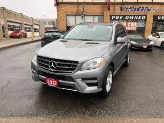 Used 2012 Mercedes-Benz ML-Class ML 350 BlueTEC/NAVIGATION/BLINDSPOT/REVERSE CAM for sale in North York, ON