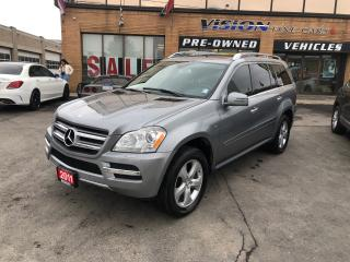 Used 2011 Mercedes-Benz GL-Class BLUETEC/NAVIGATION/B UP CAMERA/SUNROOF for sale in North York, ON