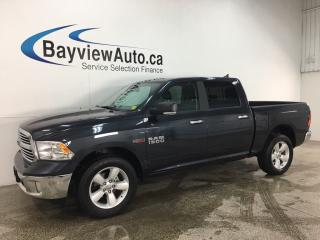Used 2018 RAM 1500 SLT - 4X4! ONLY 3100KMS! ECODIESEL! 20' ALLOYS! BIG SCREEN! for sale in Belleville, ON