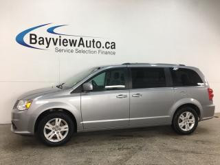 Used 2018 Dodge Grand Caravan Crew - HTD LTHR! PWR DOORS! NAV! for sale in Belleville, ON
