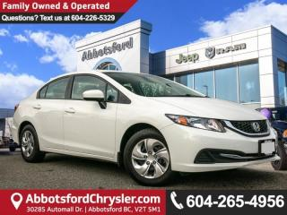 Used 2015 Honda Civic LX - Locally Driven - Accident Free for sale in Abbotsford, BC