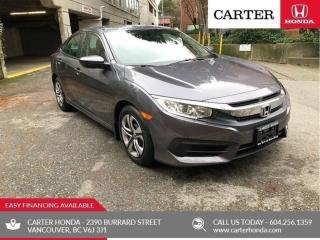 Used 2017 Honda Civic LX for sale in Vancouver, BC