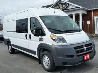 Used 2018 RAM ProMaster 3500 Extended Van, NAV, Back Up Cam, Bluetooth for sale in Paris, ON