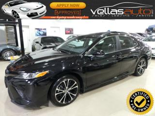 Used 2018 Toyota Camry SE| SUNROOF| HEATED SEATS| SAFEY SENSE PKG for sale in Vaughan, ON