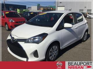 Used 2015 Toyota Yaris LE HATCHBACK ***BALANCE GARANTIE*** for sale in Beauport, QC