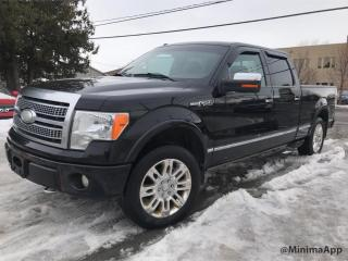 Used 2009 Ford F-150 platinum, full, 4wd for sale in Drummondville, QC