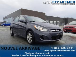 Used 2012 Hyundai Accent L+AUTOMATIQUE+CHAUFFAGE+CD/USB/AUX for sale in Sherbrooke, QC