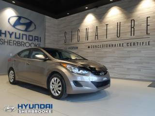 Used 2013 Hyundai Elantra BAS KILO! GL+BANCS CHAUFF+BLUETOOTH for sale in Sherbrooke, QC