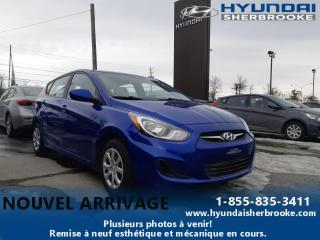 Used 2014 Hyundai Accent GL+A/C+BANCS CHAUFF+BLUETOOTH+CRUISE for sale in Sherbrooke, QC