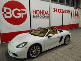 Used 2017 Porsche Boxster 718 S Convertible for sale in St-Georges, QC