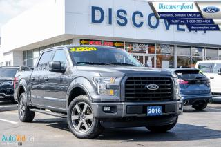 Used 2016 Ford F-150 FX4 SPORT PKGE for sale in Burlington, ON