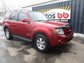 Used 2008 Ford Escape 4 portes, 4 roues motrices V6 Limited for sale in Laval, QC