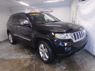 Used 2012 Jeep Grand Cherokee Overland for sale in Ancienne Lorette, QC