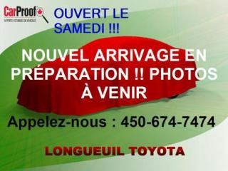 Used 2014 Toyota Corolla for sale in Longueuil, QC