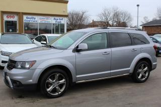 Used 2016 Dodge Journey Crossroad AWD 7 PASSENGER for sale in Brampton, ON
