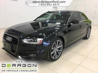 Used 2015 Audi A4 Progressiv Plus S for sale in Cowansville, QC
