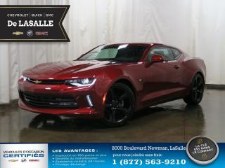 Used 2018 Chevrolet Camaro LT 8 601$ DE RABAIS....A Qui la Chance..? for sale in Lasalle, QC