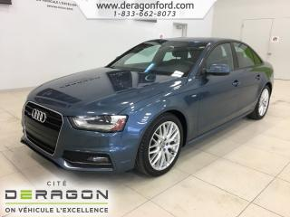 Used 2015 Audi A4 Komfort plus S-Line for sale in Cowansville, QC