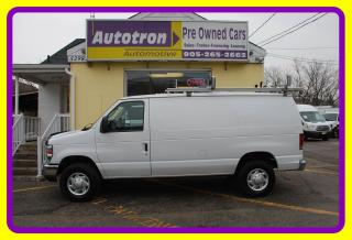 Used 2012 Ford E350 1 Ton Econoline Cargo Van, Roof Rack for sale in Woodbridge, ON