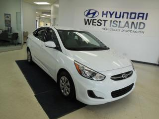Used 2016 Hyundai Accent LE 1.6L AUTO TRACTION AVANT for sale in Dorval, QC