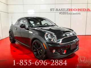 Used 2012 MINI Cooper S COUPE + HARMAN/KARDON + BAS MILLAGE !! for sale in St-Basile-le-Grand, QC