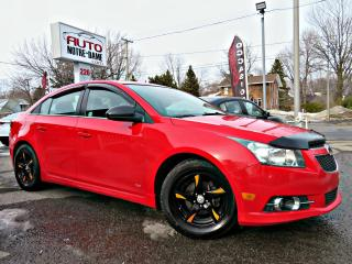 Used 2013 Chevrolet Cruze LT RS TURBO -- BLUETOOTH - CUIR - PIONEE for sale in Repentigny, QC