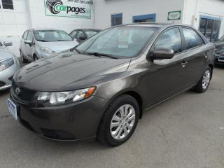 Used 2010 Kia Forte LX - Certified w/ 6 Month Warranty for sale in Brantford, ON