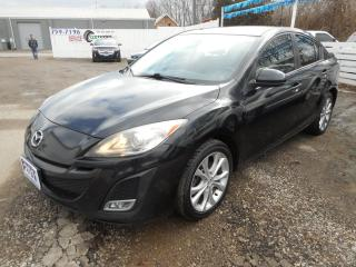 Used 2011 Mazda MAZDA3 GT *Clean Carproof* Certified w/ 6 Month Warranty for sale in Brantford, ON
