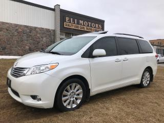 Used 2012 Toyota Sienna Limited | AWD | NAVI | TV-DVD | Pano Roof | BT | for sale in North York, ON