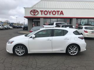 Used 2016 Lexus CT 200h Hybrid for sale in Cambridge, ON