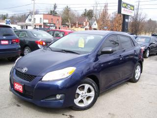 Used 2012 Toyota Matrix CERTIFIED,SUNROOF,FOG LIGHTS,ALLOYS,CRUISE CONTROL for sale in Kitchener, ON