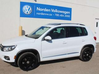 Used 2015 Volkswagen Tiguan HIGHLINE R-LINE 4MOTION AWD - LEATHER / TECH PKG / VW CERTIFIED for sale in Edmonton, AB
