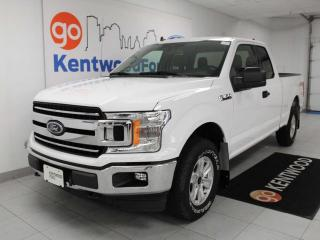 Used 2019 Ford F-150 XLT 4x4 6-seater super cab with keyless entry and a back up cam for sale in Edmonton, AB