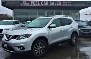 Used 2015 Nissan Rogue SL|NAVI|BLINDSPOT|PANOROOF| for sale in Mississauga, ON