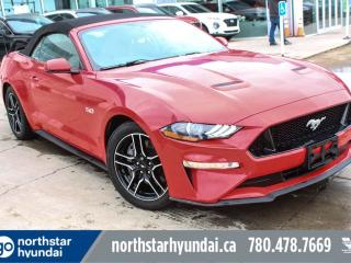 Used 2018 Ford Mustang GT/CONVERTIBLE/LOWKM/NAV/LEATHER for sale in Edmonton, AB