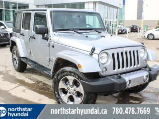 Used 2018 Jeep Wrangler JK Unlimited UNLIMITED SAHARA/NAV/POWEROPTIONS/HEATEDSEATS/AUTO for sale in Edmonton, AB