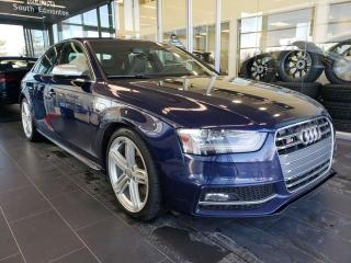 Used 2013 Audi S4 PREMIUM, NAVI, SUNROOF, REAR VIEW CAMERA for sale in Edmonton, AB
