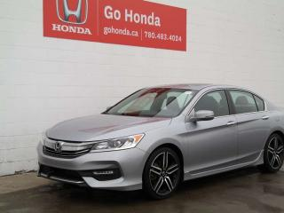 Used 2016 Honda Accord Sedan Sport for sale in Edmonton, AB
