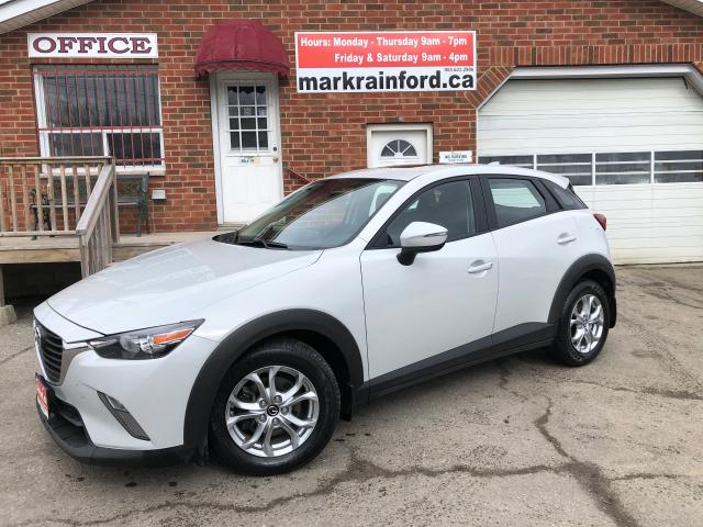 2016 Mazda CX-3 GS AWD Leather Sunroof Nav Bluetooth Back Up Cam
