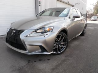Used 2016 Lexus IS 300 AWD HEATED WHEEL ROOF GORGEOUS for sale in Toronto, ON