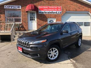Used 2014 Jeep Cherokee North 4x4 Panoramic Sunroof Alloys Back Up Camera for sale in Bowmanville, ON