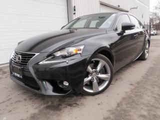 Used 2015 Lexus IS 350 NAV AWD LEXUS SERVICE GORGEOUS for sale in Toronto, ON