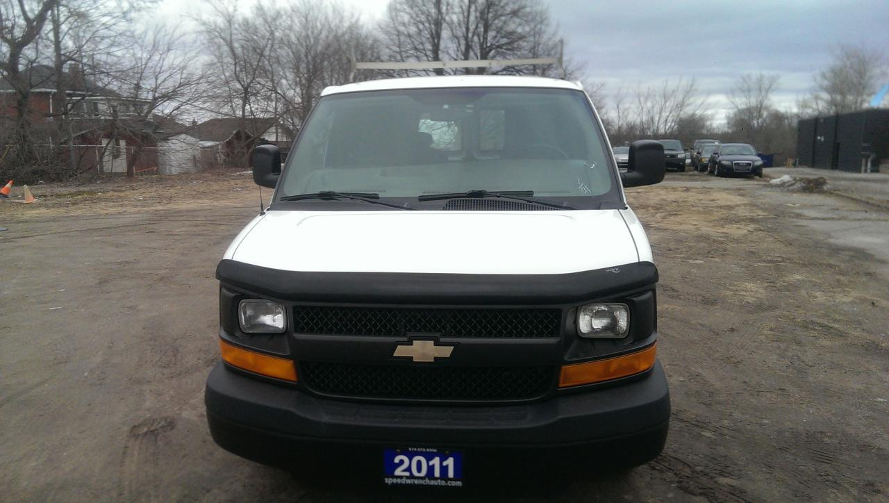 2011 Chevrolet Express Cargo G2500
