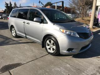Used 2011 Toyota Sienna 177KM,ALLOYS,SAFETY+3YEARS WARRANTY INCLUDED for sale in Toronto, ON