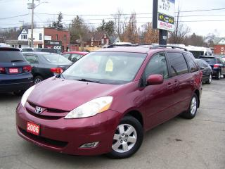 Used 2006 Toyota Sienna LE,GPS,LEATHER,ALLOYS,DVD,FOG LIGHTS for sale in Kitchener, ON
