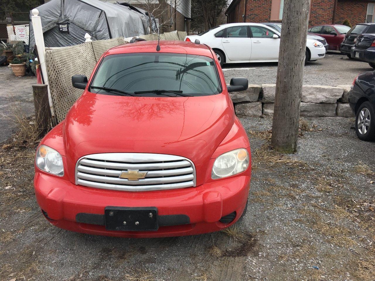 Photo of Red 2010 Chevrolet HHR